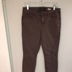 Slim leg pants with some stretch